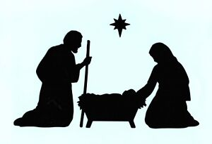 Nativity-Die-Cuts-Christmas-Die-Cuts-Nativity-Scene-2-5-034-or-4-034-tall-Any-Color