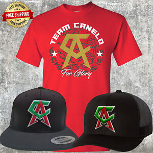 Canelo Saul Alvarez Hat with FREE RED T-Shirt - Choice of Trucker or ... 1e512f327511