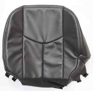 2005 2006 chevy silverado duramax driver bottom seat cover dark gray vinyl ebay. Black Bedroom Furniture Sets. Home Design Ideas