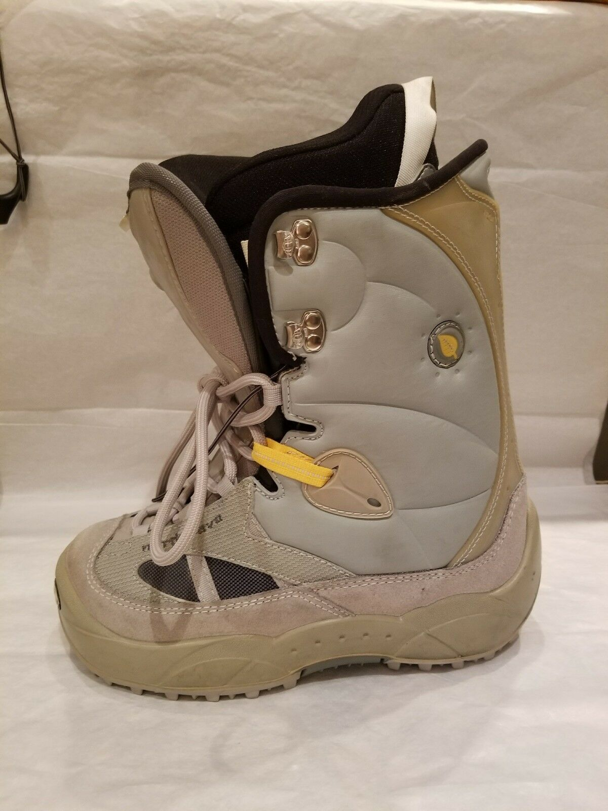 NORTHWAVE WOMENS SNOWBOARD BOOTS SIZE 5 6 LADY COLOR GREY baby bluee yellow MP245
