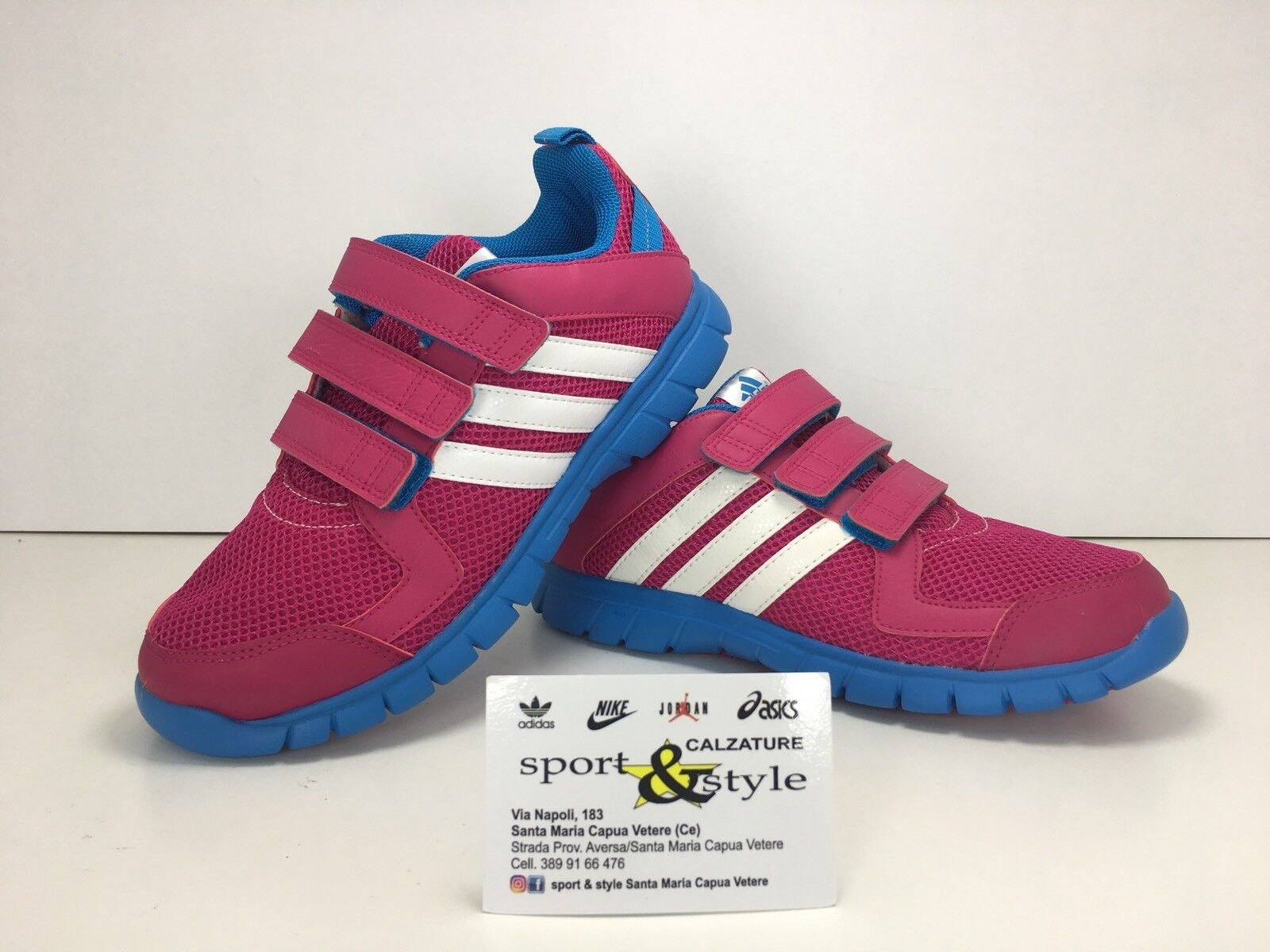 SCARPE N 35 /2 ADIDAS PERFORMANCE STA FLUID 3 CF K SNEAKERS BASSE B23936 New shoes for men and women, limited time discount