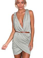 Boldgal Western Cocktail Short Plunge Party Wear Evening Wrap Club Dress