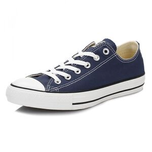 Converse Chuck Taylor Star Navy Blue White Ox Top Mens Womens Shoes ... ff21bbec6