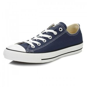 Details about Converse Chuck Taylor Star Navy Blue White Ox Top Mens Womens Shoes Skates Sizes