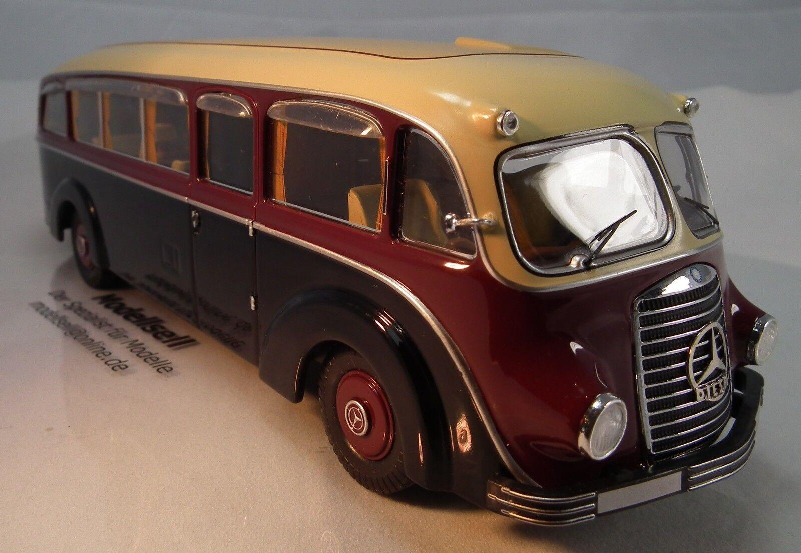 Mercedes benz lo3500 bus travel wagon Conference salon 1 43 premium classixxs