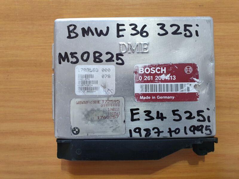 BMW E36 325i M50 1987-1995 Bosch ECU part# DME 1703563 000