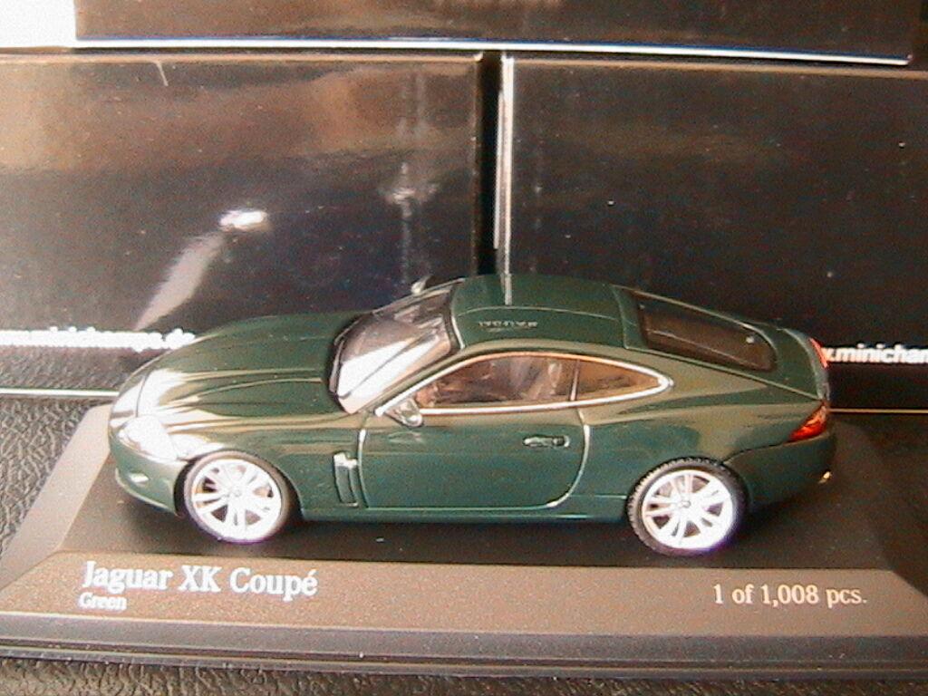 JAGUAR XK COUPE 2005 vert MINICHAMPS 400130502 1 43 ROADSTER VERT vert GRUN