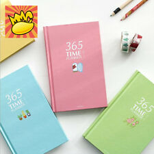 """""""Cute 365"""" 1pc Planner Agenda Study Journal Lined Notebook Hard Cover Diary Memo"""