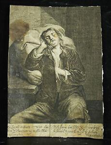 Engraving-Xviie-Young-Man-Sleeping-Jacob-Of-Weert-Ap-David-Ryckaert