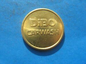 (20c2) Dibo Lavage Voiture Couleur Or Jeton Coin-afficher Le Titre D'origine Couleurs Harmonieuses