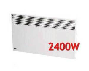 Noirot-Spot-Plus-Panel-Heater-2400-Watt-7358-8-Wall-Mount-no-casters-NEW