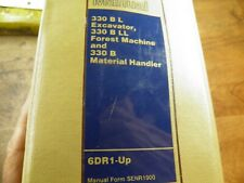 Cat Caterpillar 330b L Ll Excavator Repair Service Manual 6dr Log Loader Amp Mh