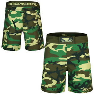 Bad Boy Fuzion MMA Fight Shorts,Crossfit Training  UFC BJJ Surfing Gym