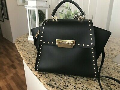 Zac Posen Large Eartha Mini Pearls Iconic Satchel Handbag