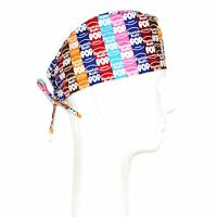 Tootsie Roll Pop Theme Scrub Hat