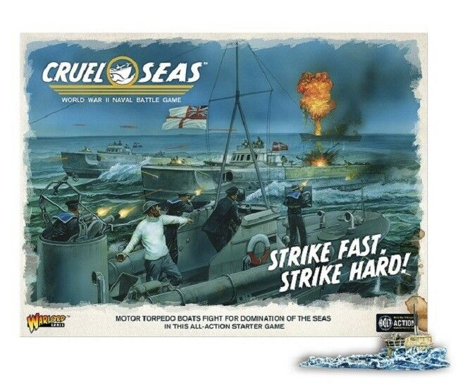 Warlord Games Cruel Seas Starter Set plus Promo Figure