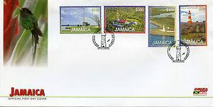 Jamaica 2016 FDC Lighthouses Definitives New Val 4v Set Cover Lighthouse Stamps