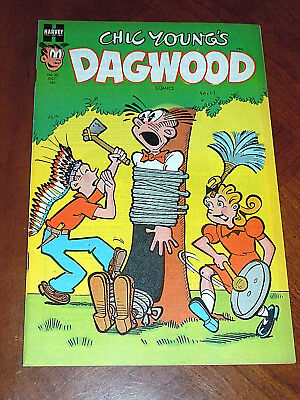 DAGWOOD #35 (1952) NM- (9.2) cond. Harvey Comics POPEYE LITTLE KING File Copy