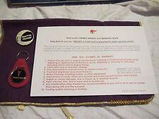 Pontiac  Advertising  ,Key Chain, Pin ,Protect-O- Plate Envelope,