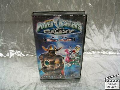 Power Rangers Lost Galaxy Return of the Magna Defender VHS ...Power Rangers Lost Galaxy Magna Defender Vhs