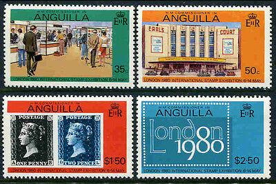 Anguilla 369-372 3916f Katalognummern Nach Michel-k QualitäT Zuerst * Briefmarkenausstellung