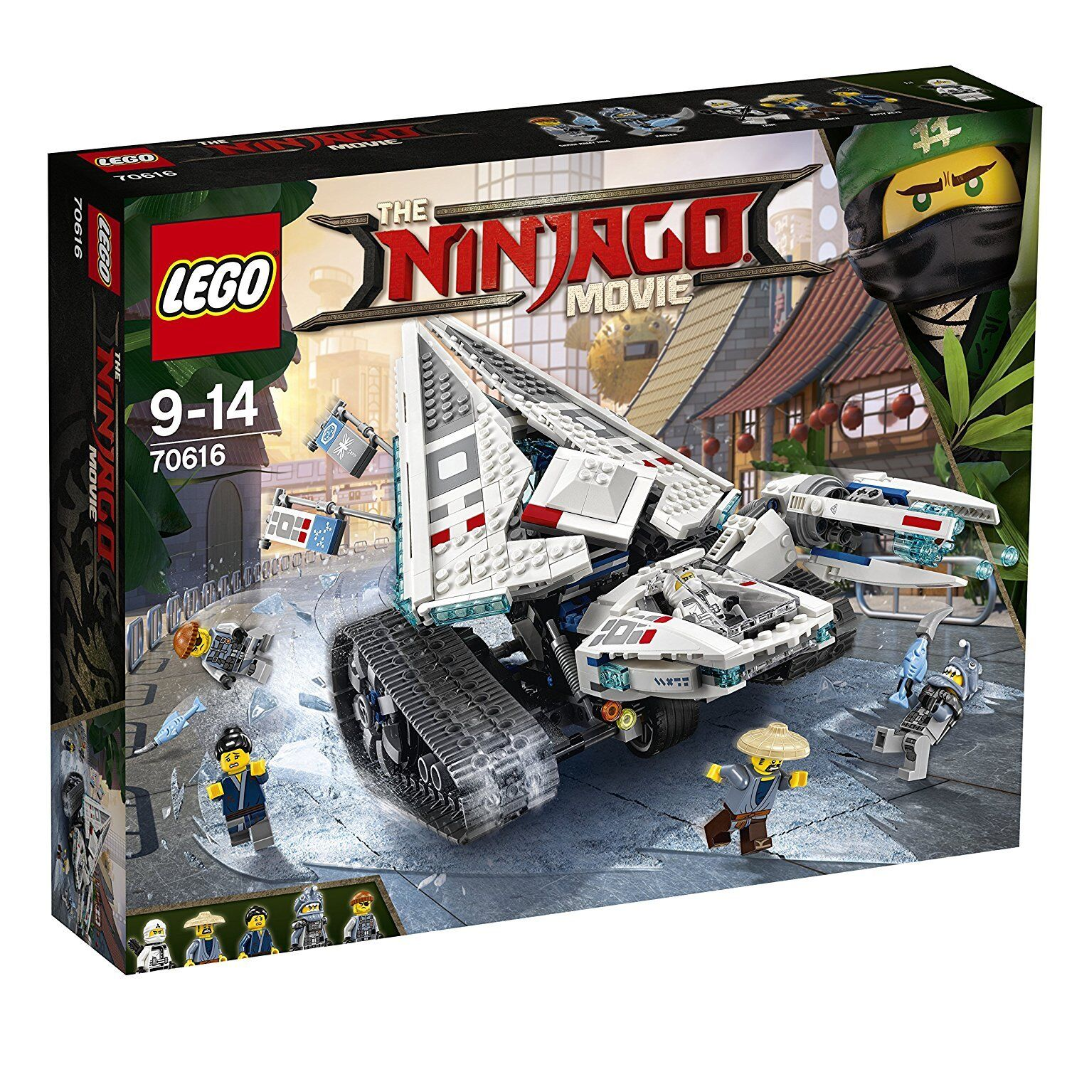 LEGO Ninjago 70616: Zane's Ice Caterpillar - Brand New