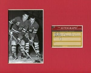 Bill-Christian-1960-US-Olympic-Gold-Hockey-HOF-Signed-Autograph-Photo-Display