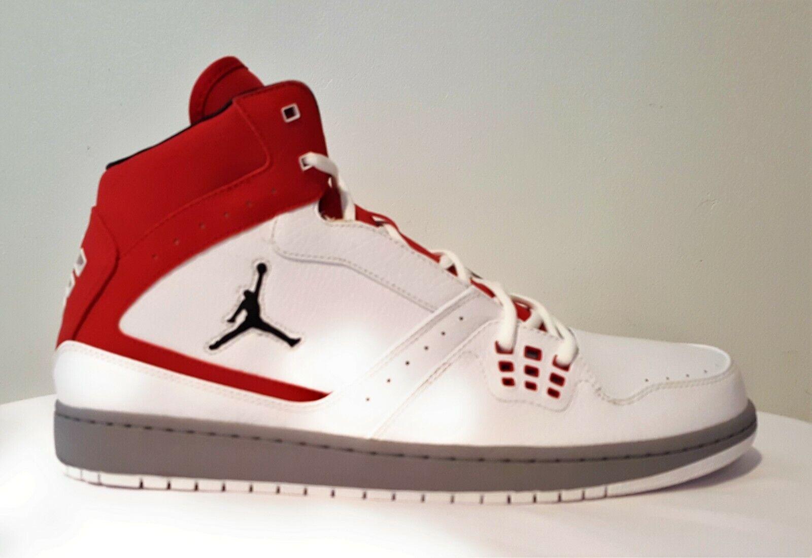 Nike Jordan 1 Flight New Men's 372704 124 White Basketball shoes Size 13