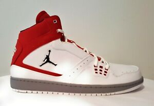 c58c43c4cc8a16 Nike Jordan 1 Flight New Men s 372704 124 White Basketball Shoes ...