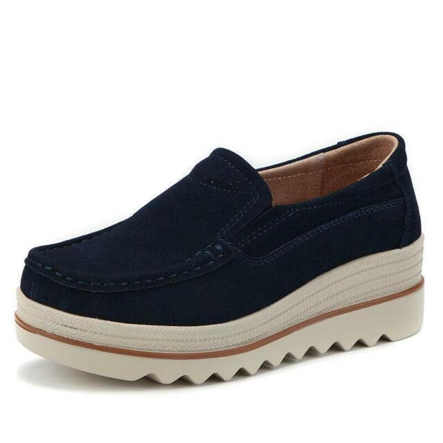 HKR Women Platform Slip on Loafers