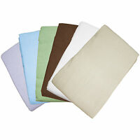 Massage Table Flannel Flat Sheets 5pk