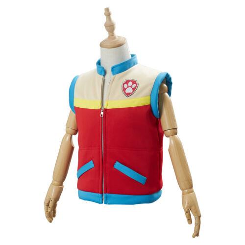 PAW Patrol Captain Ryder Cosplay Costume Kids Children Vest Waistcoat Only