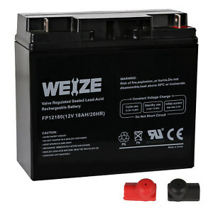 12V 18Ah CB19-12 Sealed Lead Acid AGM Rechargeable Deep Cycle Battery NEW