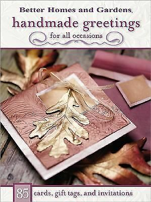 1 of 1 - Handmade Greetings for All Occasions: 85 Cards, Gift Tags, and Invitations (Bett