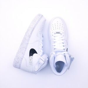 detailing 1574d bbd3b Image is loading New-Nike-Air-Force-1-Custom-Oreo-AF1-