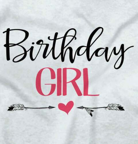 Birthday Girl Funny Adorable Cute Shower Gift Babies Girls Gerber Infant Onesies