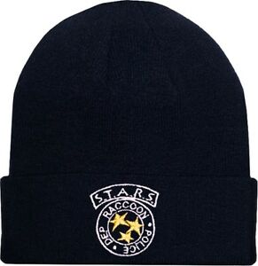 Resident Evil STARS Logo Wool Hat Blue Beanie Knit Raccoon Police ... d24be187160e