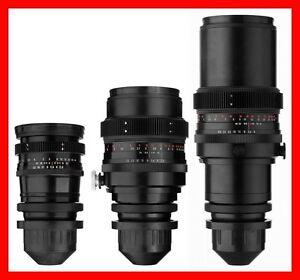 THREE-Lens-SET-Carl-Zeiss-Jena-120mm-180mm-300mm-w-ARRI-Arriflex-PL-Mount