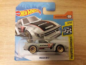 Hot-Wheels-Hotwheels-Mazda-RX-7-RX7-1-64-1-64-2-10-de-graficos-de-velocidad-de-hardware