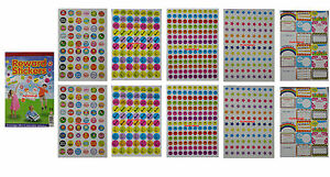 Image Is Loading 1000 Children 039 S Reward Stickers Chart Motivation