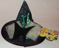 Dog Witch Hat Halloween Costume Accessory Rubie's Sizes S/m Or M/l Pet