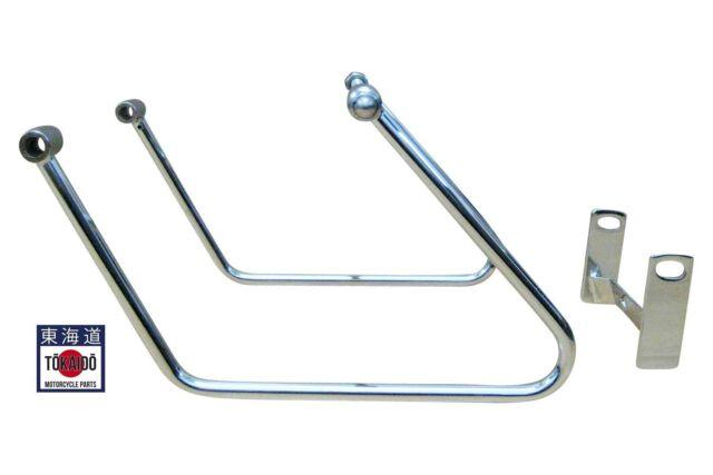 support de sacoches chrome Ø 12,5 mm pour Honda CB1100 type SC65 2013-16