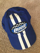 Buell Harley Davidson Blue Racing Cap S: One Size