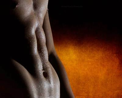 Mist Fine Art Shirtless Male Photo Print 8x10 Gay MT