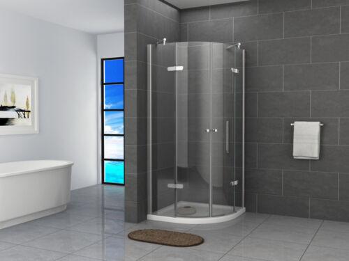 Duschkabine Eckdusche Viertelkreis Duschabtrennung Runddusche Glas Dusche