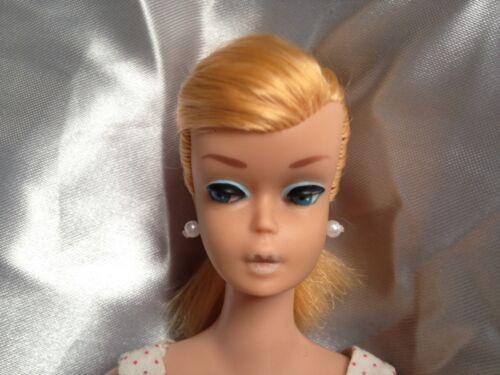 BARBIE Gioielli nessuna orecchie verdi * Orecchini di Perle bianco per VINTAGE//Silkstone