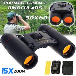 Portable-Pocket-Binoculars-Folding-Compact-30-x-60-Small-Travel-Telescope-USA
