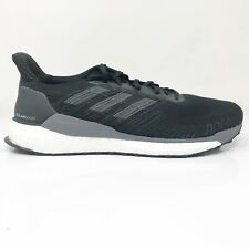 Grupo En otras palabras Cabeza  adidas Mens Solar Boost 19 EF1413 Black Grey Running Shoes Lace up Size 13  for sale online | eBay