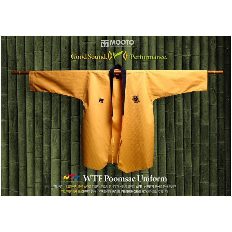 Mooto  Kukkiwon Taekwondo High Dan Poomsae Uniform Dobok Gi TKD WTF Approved New  online sales