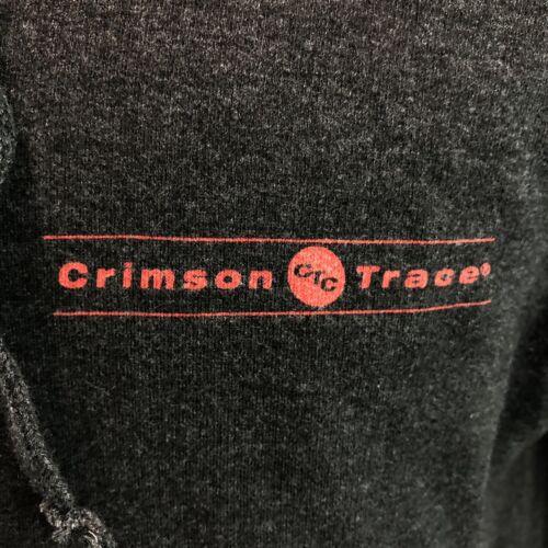 """Nouveau Crimson Trace /""""LASERGRIPS/"""" Sweat à capuche gris taille M PROMO FULL ZIP"""